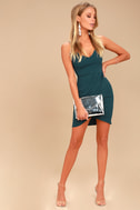 Forever Your Girl Teal Blue Bodycon Dress 2