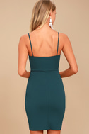 Forever Your Girl Teal Blue Bodycon Dress 4