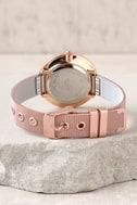Race the Clock Rose Gold Watch 3