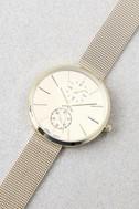 Race the Clock Gold Watch 2