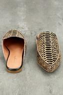 Lizzy Cheetah Print Pony Fur Loafer Slides 4