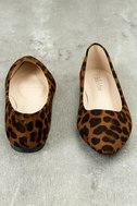 Holly Leopard Print Flats 4
