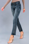 Hermosa Medium Wash Ankle Skinny Jeans 2