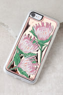 Zero Gravity Flora Rose Gold Embroidered iPhone 7 Case 1