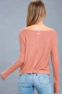 First Glance Rusty Rose Sweater Top 4