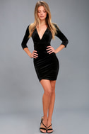 Anything For You Black Bodycon Dress 1