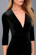 Anything For You Black Bodycon Dress 5