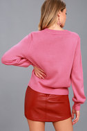 Stylish Visions Pink Knit Sweater 4