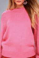 Stylish Visions Pink Knit Sweater 5