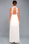 My Beloved White Lace Maxi Dress 9
