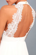 My Beloved White Lace Maxi Dress 10
