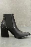 Kestrel Black Studded Ankle Booties 3