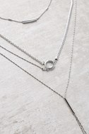 More to Love Silver Layered Necklace 1