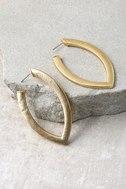 Empress Gold Earrings 2