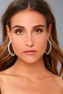 Empress Silver Earrings 1