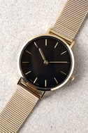 Style Break Gold and Black Watch 3