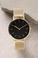 Style Break Gold and Black Watch 1