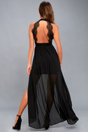 My Beloved Black Lace Maxi Dress 3
