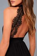 My Beloved Black Lace Maxi Dress 4