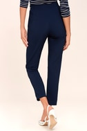 Kick It Navy Blue Trouser Pants 10