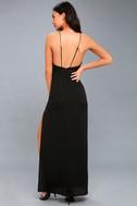 Sloan Black Backless Maxi Dress 3