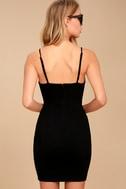 Secret Crush Black Lace Bodycon Dress 4