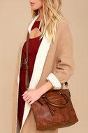 Each and Every Moment Brown Handbag 4