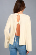 Maurice Cream Sweater Top 3