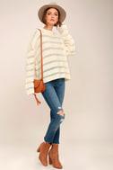 Elsa Cream Knit Sweater 2