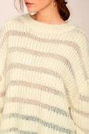 Elsa Cream Knit Sweater 5