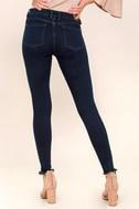 Dayley Dark Wash Skinny Jeans 4
