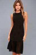 Modern Drama Black Sleeveless Midi Dress 3