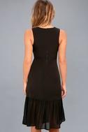 Modern Drama Black Sleeveless Midi Dress 4
