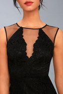 Amazing Lace Black Lace Maxi Dress 5