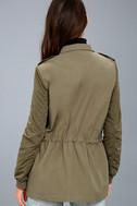 Style Sergeant Olive Green Jacket 4
