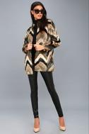 Waylon Multi Faux Fur Coat 2