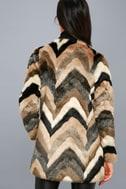 Waylon Multi Faux Fur Coat 3