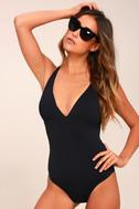 Seafarer Black One Piece Swimsuit 3