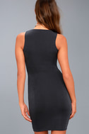 More than a Dream Charcoal Grey Sleeveless Bodycon Dress 7
