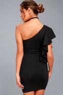 Live my Life Black One-Shoulder Bodycon Dress 7
