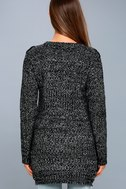 Pepper Black and White Knit Sweater 5