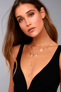 Shine All Night Gold Layered Necklace 2