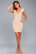 Good Life Blush Bodycon Dress 5
