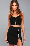 Wesley Black Pearl Mini Skirt 3