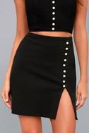 Wesley Black Pearl Mini Skirt 4