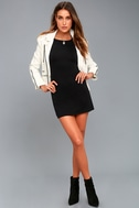 Kiss and Tell Black Long Sleeve Backless Dress 6
