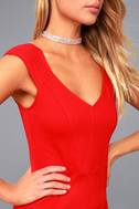 Shape of My Heart Red Bodycon Dress 5