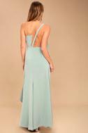 Be Mine Sage Green Maxi Dress 3