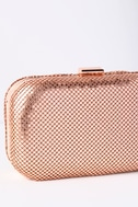 Avangeline Rose Gold Clutch 3