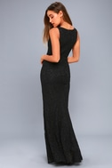 Everly Black Lace Maxi Dress 3